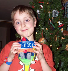 Christmas Gifts for George from Oz 2003!